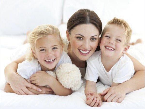Mujeres con hijos